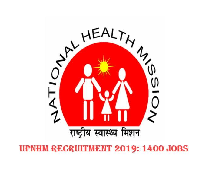 UPNHM Recruitment 2019