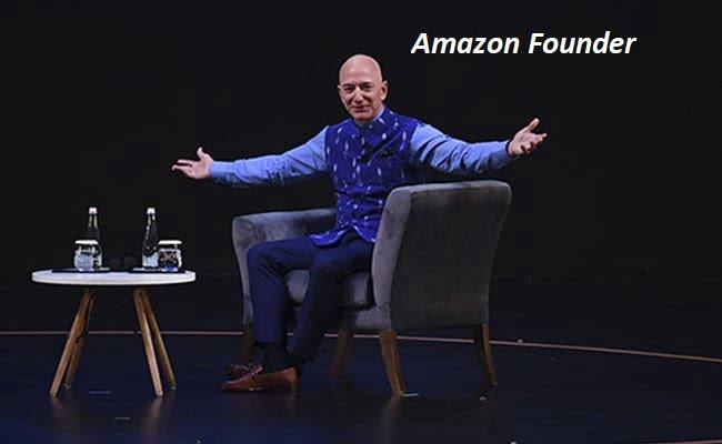Jeff Bezos surprise visit to India